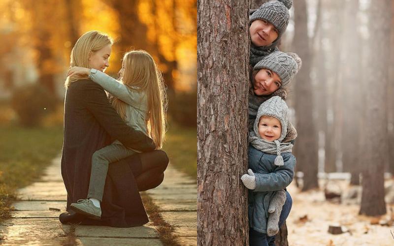 Осіння фотосесія сімейна фото - 2