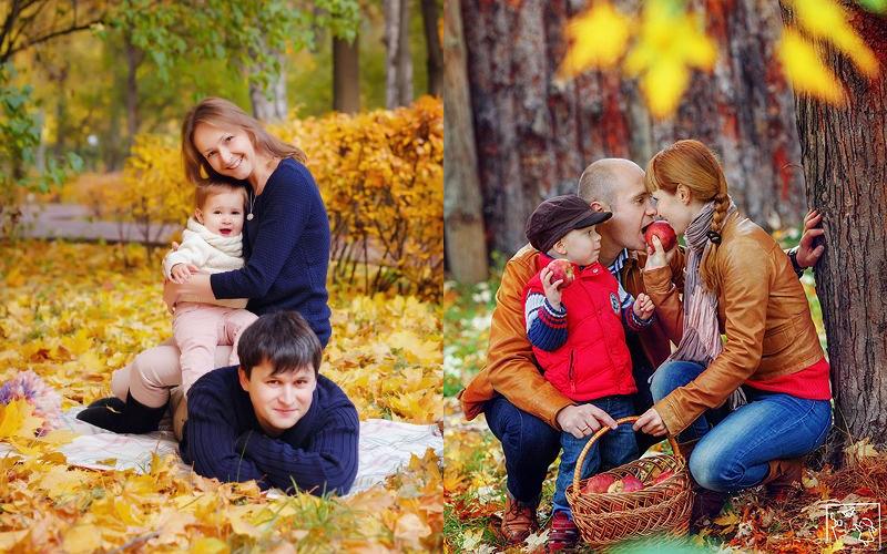 Осіння фотосесія сімейна фото - 4