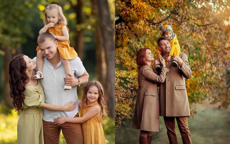 Осіння фотосесія сімейна фото - 5