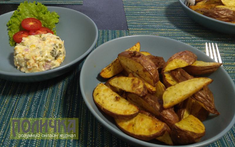 Прості страви з картоплі в духовці фото - 2