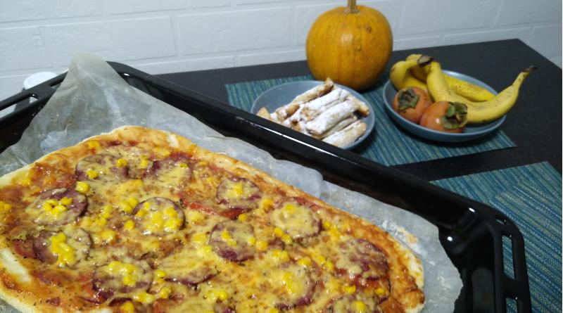 Простий рецепт піци фото - 1