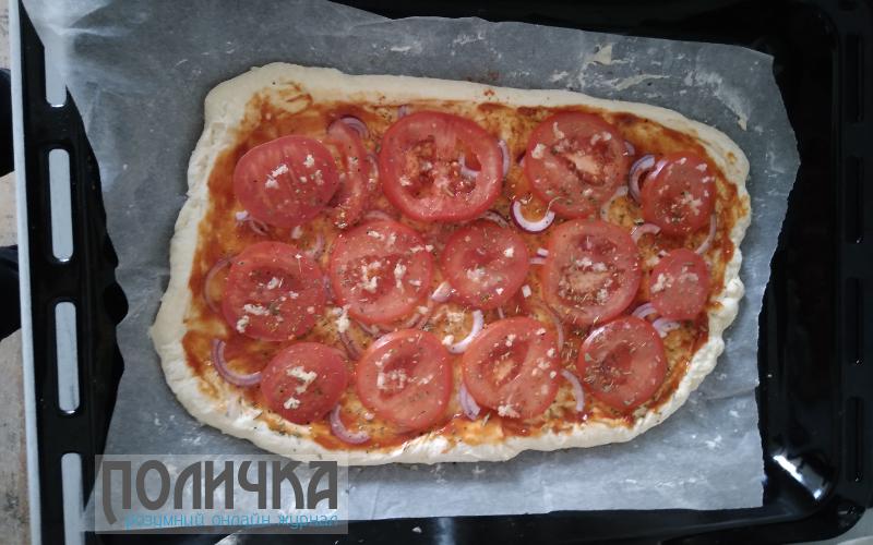 Простий рецепт піци фото - 8