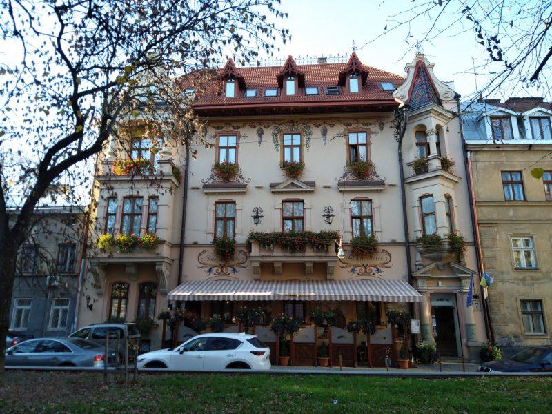 Архітектура старого Львова - фото