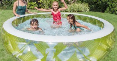 Чим хороший дитячий басейн з надувним дном