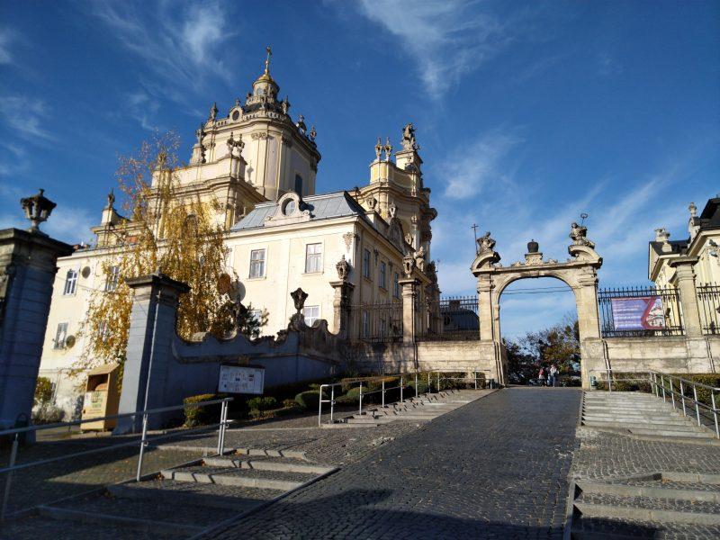 Пам'ятні місця Львова - Архикатедральний Собор Святого Юра