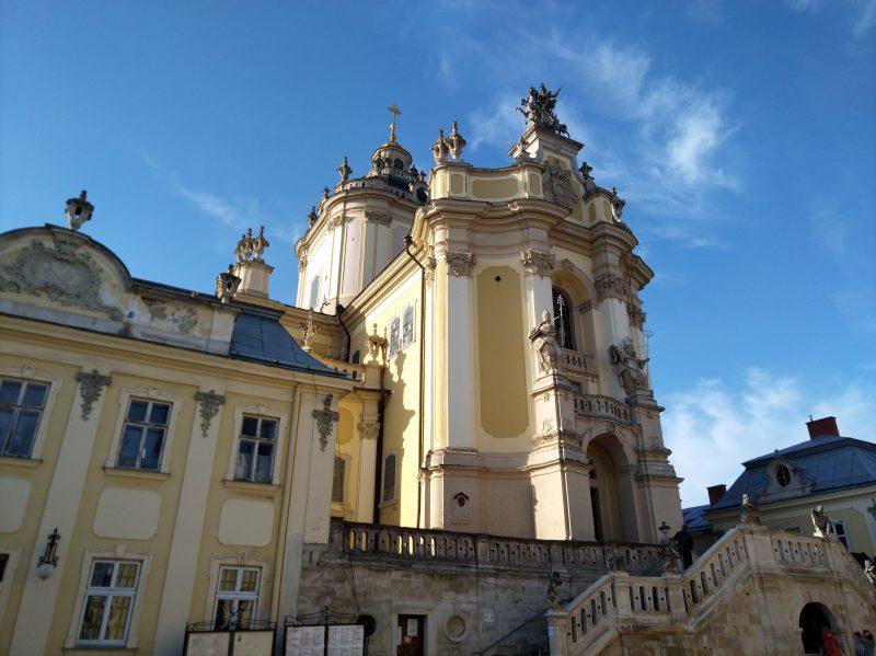 Пам'ятні місця Львова - Архикатедральний Собор Святого Юра - фото 2