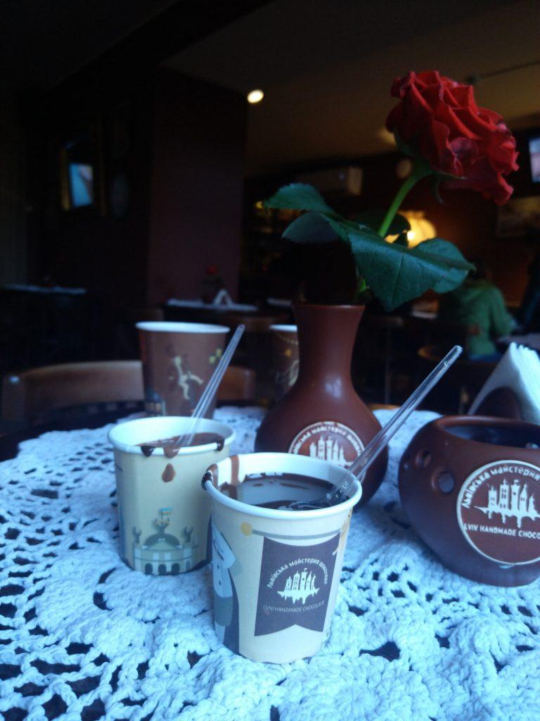 Топлений шоколад у Львівській майстерні шоколаду