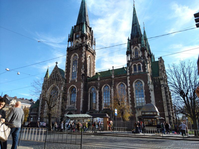 Визначні місця Львова - 2 фото Церкви Святих Ольги і Єлизавети