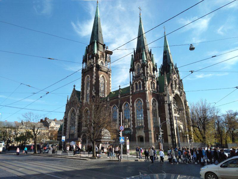 Визначні місця Львова - Церква Святих Ольги і Єлизавети