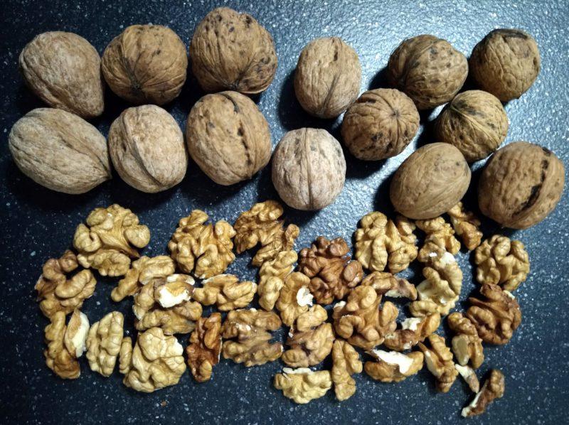 Калорійність грецьких горіхів