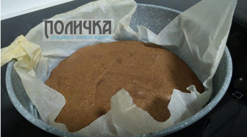 Шоколадний бісквіт простий рецепт фото - 1