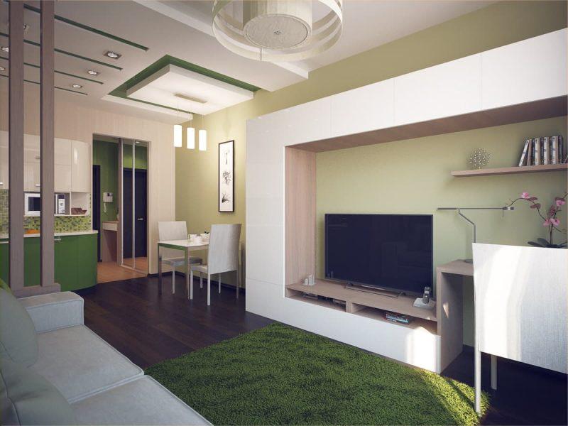 Дизайн квартири студії - фото 3