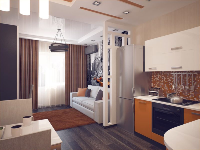 Дизайн квартири студії - фото 7