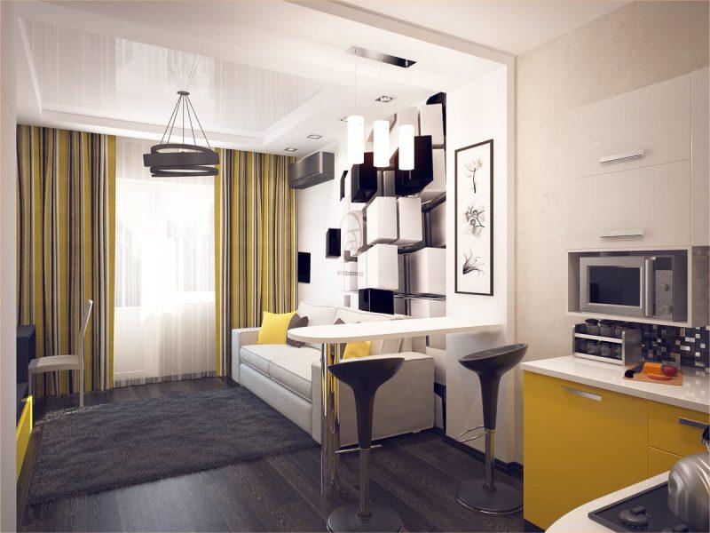 Дизайн квартири студії - фото 8