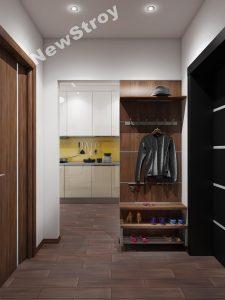 Дизайн проект однокімнатної квартири 35 м - фото 17