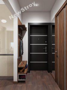 Дизайн проект однокімнатної квартири 35 м - фото 18