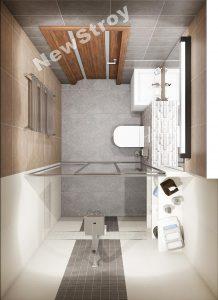 Дизайн проект однокімнатної квартири 35 м - фото 2