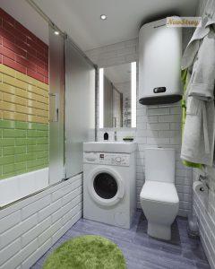 Дизайн проект однокімнатної квартири студії - фото 10