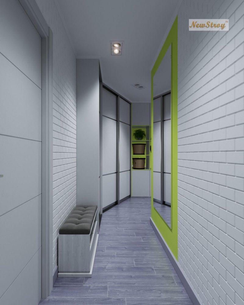 Дизайн проект однокімнатної квартири студії - фото 4