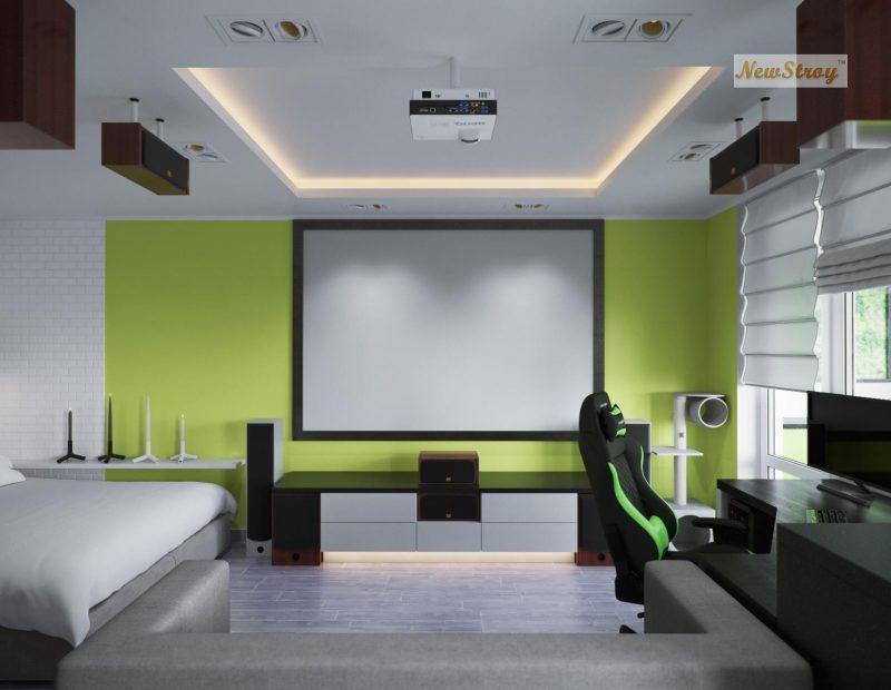Дизайн проект однокімнатної квартири студії - фото 6