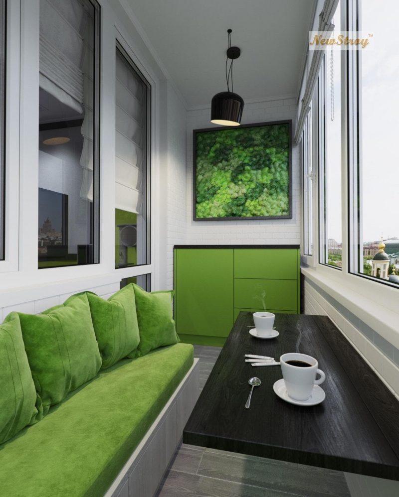 Дизайн проект однокімнатної квартири студії - фото 8