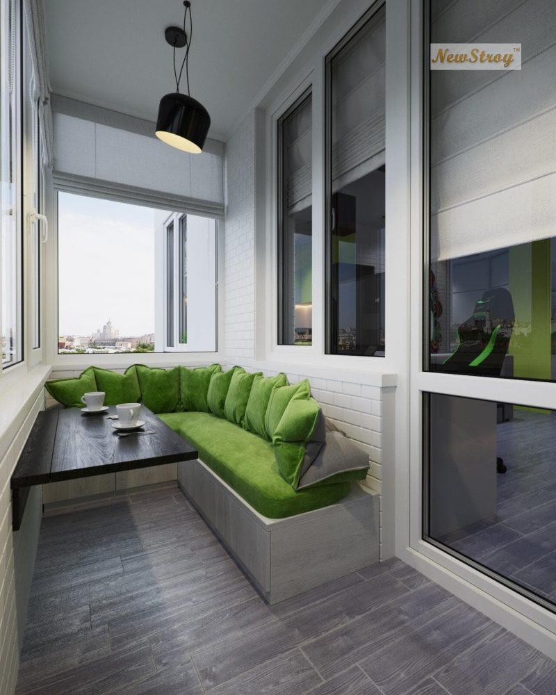 Дизайн проект однокімнатної квартири студії - фото 9