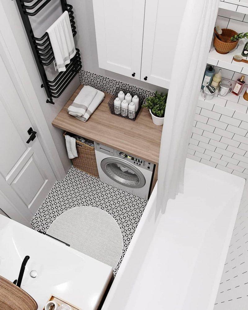 Дизайн ванної 4 кв м - фото 15