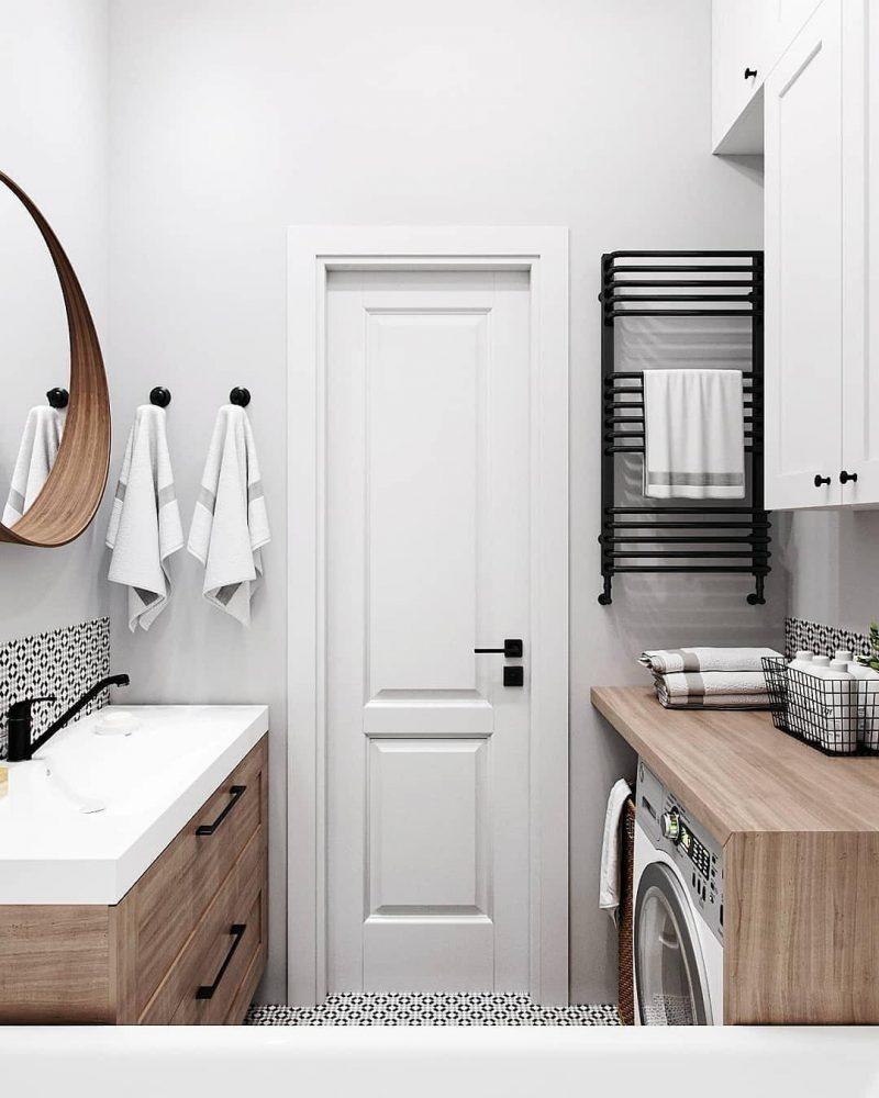 Дизайн ванної 4 кв м - фото 16
