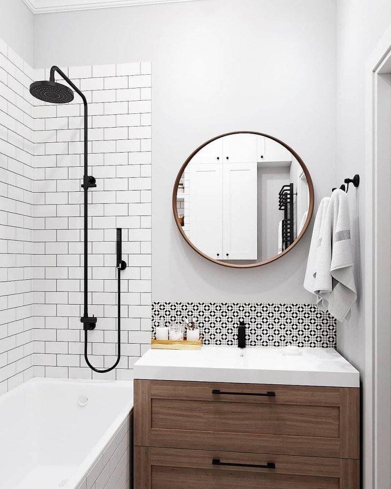 Дизайн ванної 4 кв м - фото 17