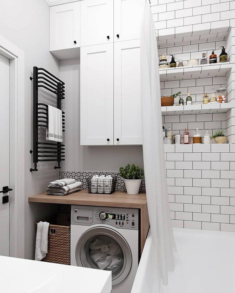 Дизайн ванної 4 кв м - фото 18
