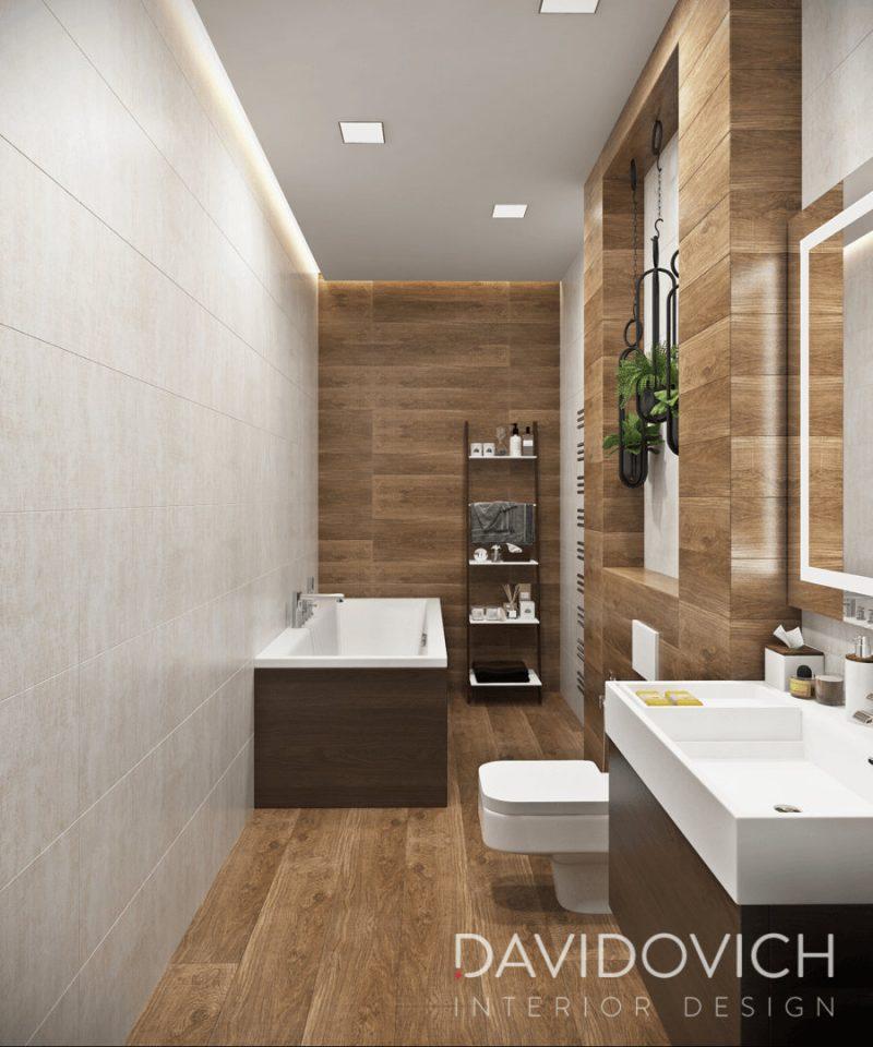 Дизайн ванної кімнати - фото 33