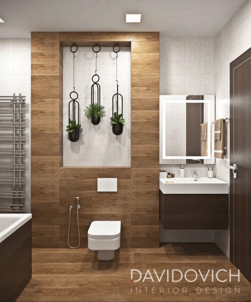 Дизайн ванної кімнати - фото 34