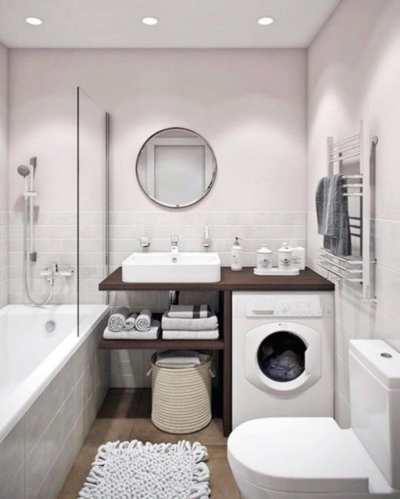 Ідеї оформлегння ванної - фото 13