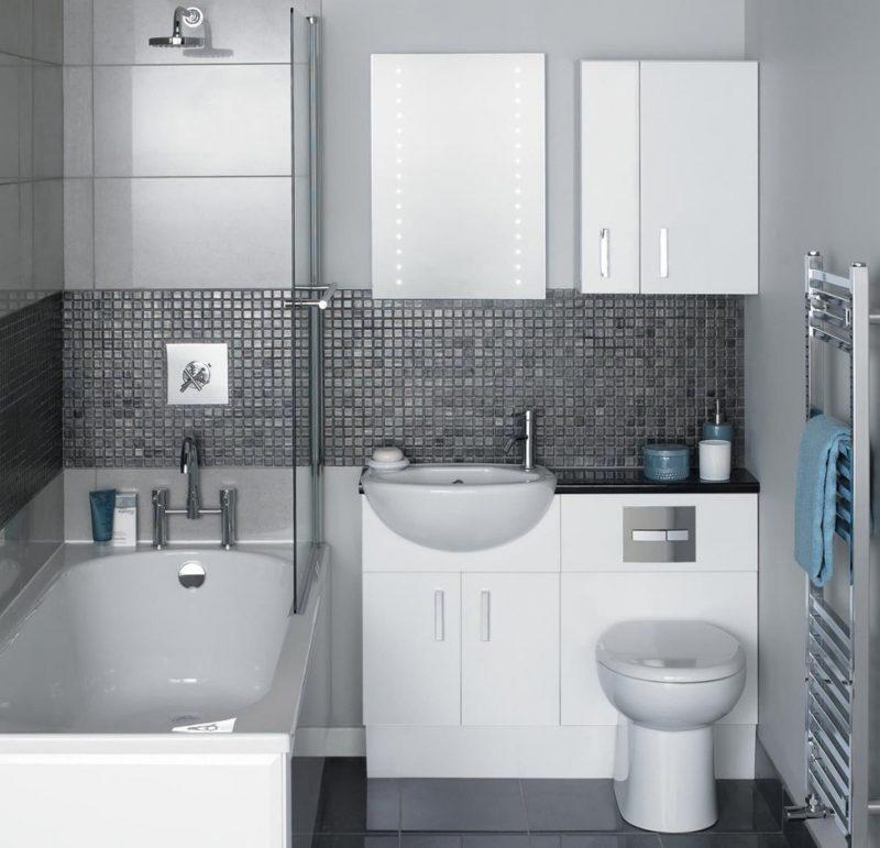 Планування маленької ванної 2 кв.м - фото 10