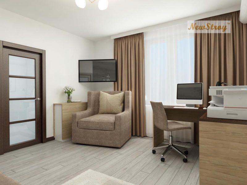 Планування однокімнатної квартири 36 м - фото 4
