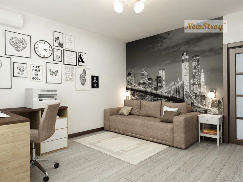 Планування однокімнатної квартири 36 м - фото 5