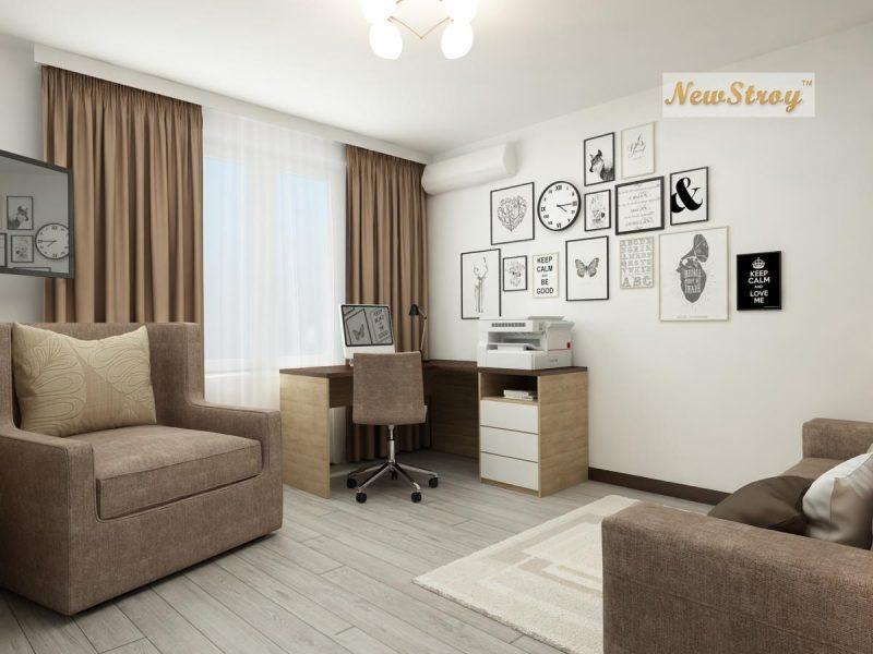 Планування однокімнатної квартири 36 м - фото 6