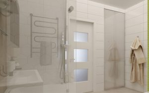 Планування ванної з душем і туалетом 3