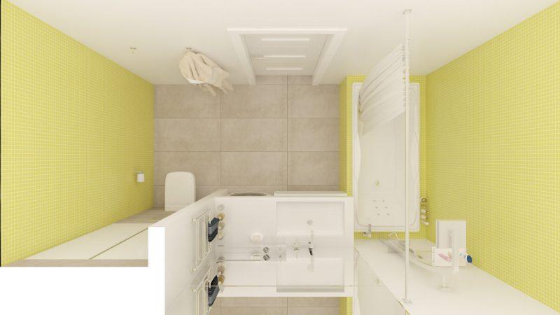 Планування ванної з туалетом - фото 30