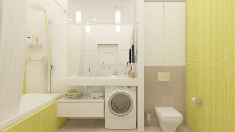 Планування ванної з туалетом - фото 31