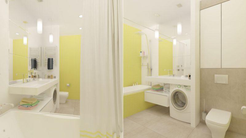 Планування ванної з туалетом - фото 32
