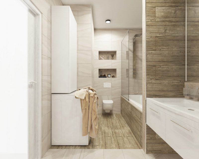 Планування ванної з туалетом - фото 33