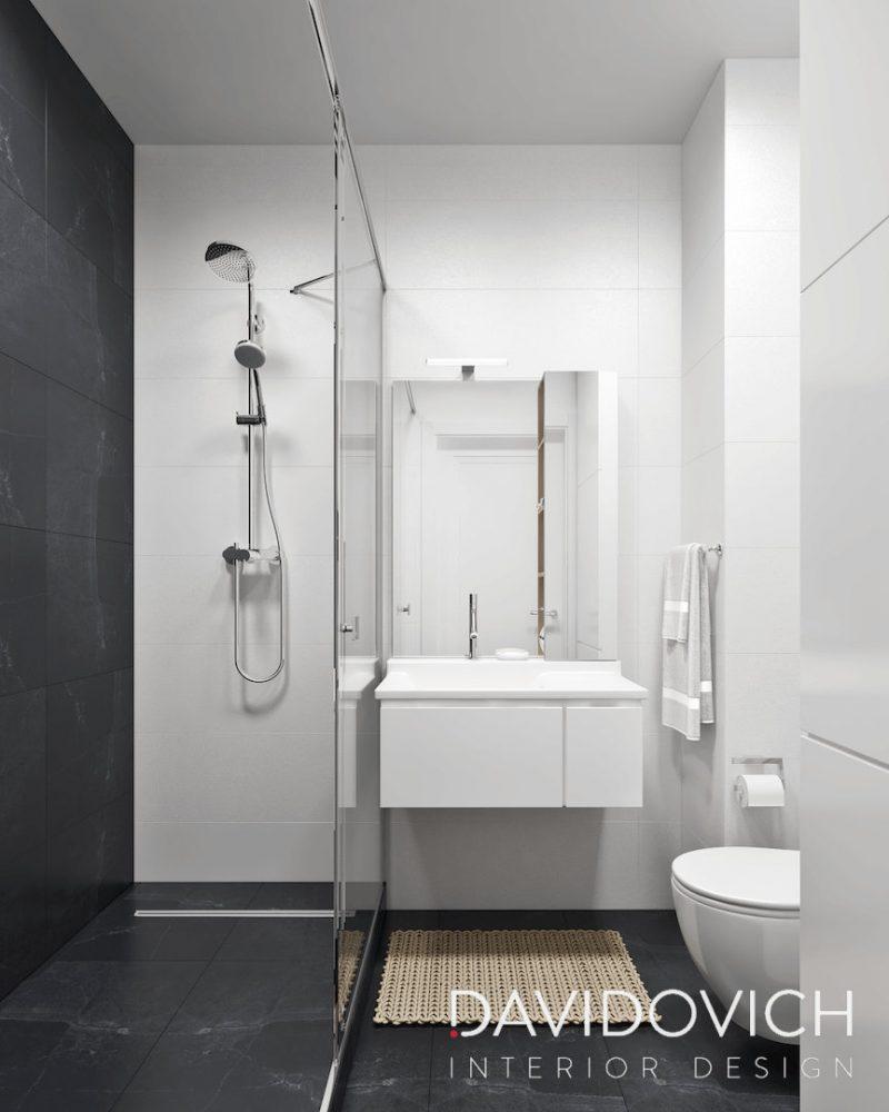 Планування ваної з душем - фото 24