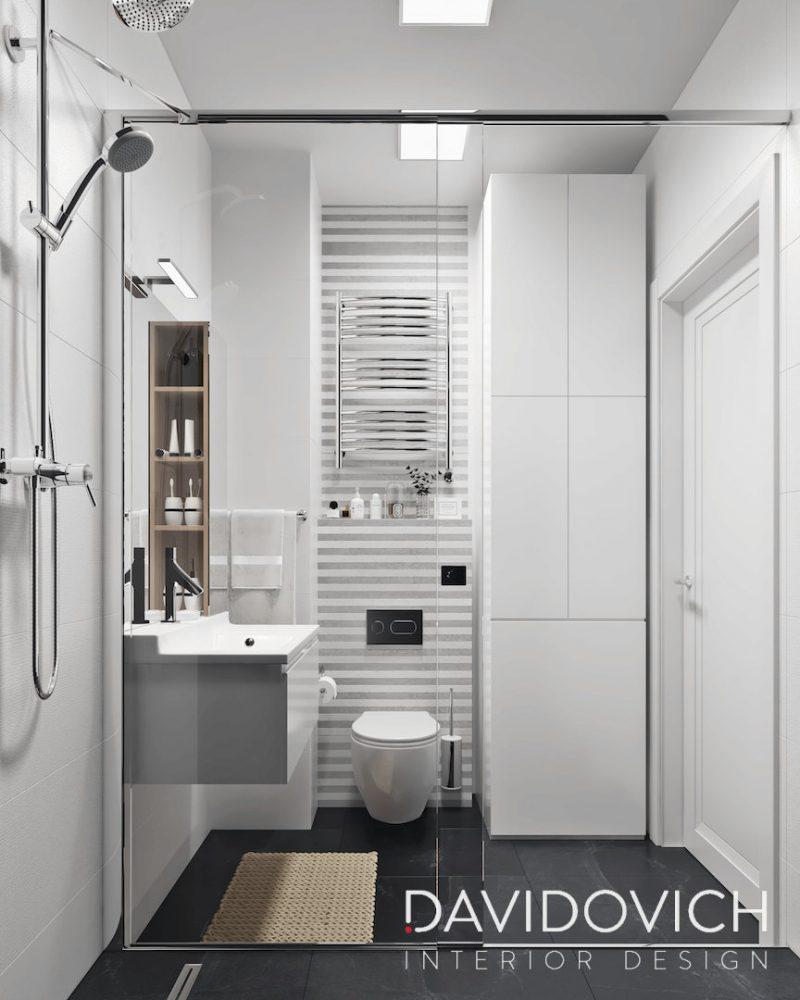 Планування ваної з душем - фото 25
