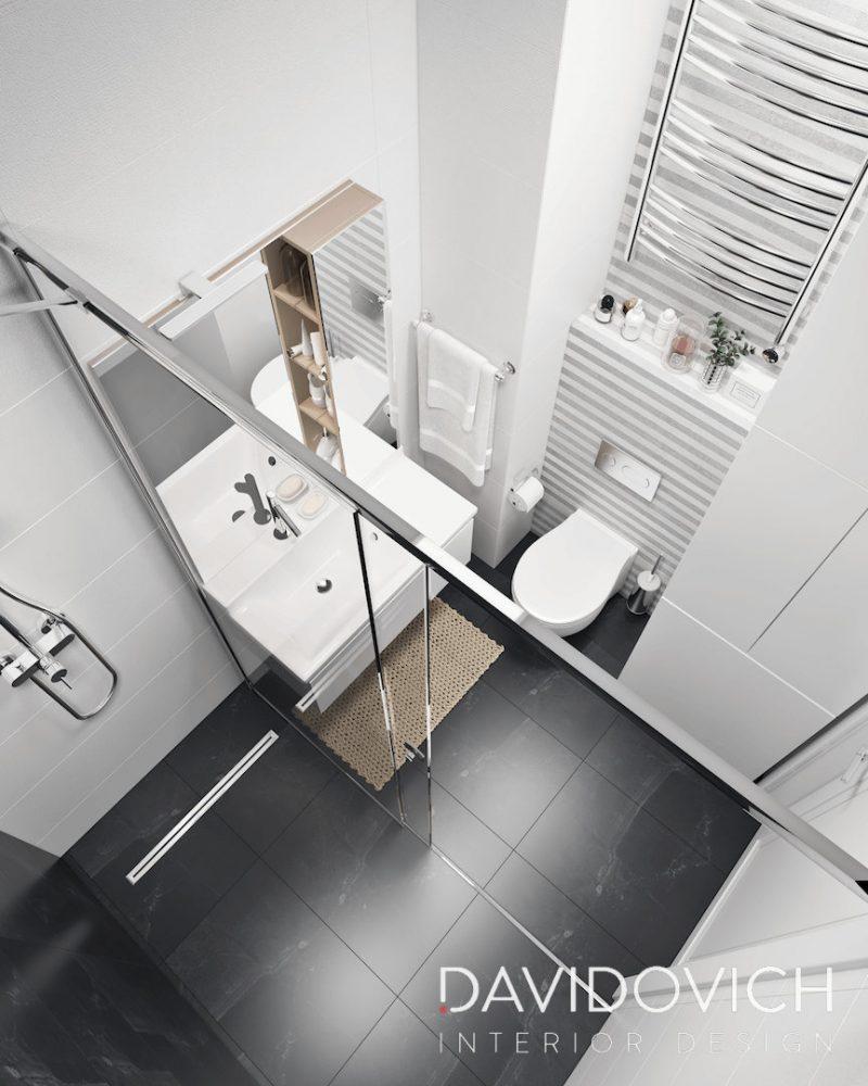Планування ваної з душем - фото 26