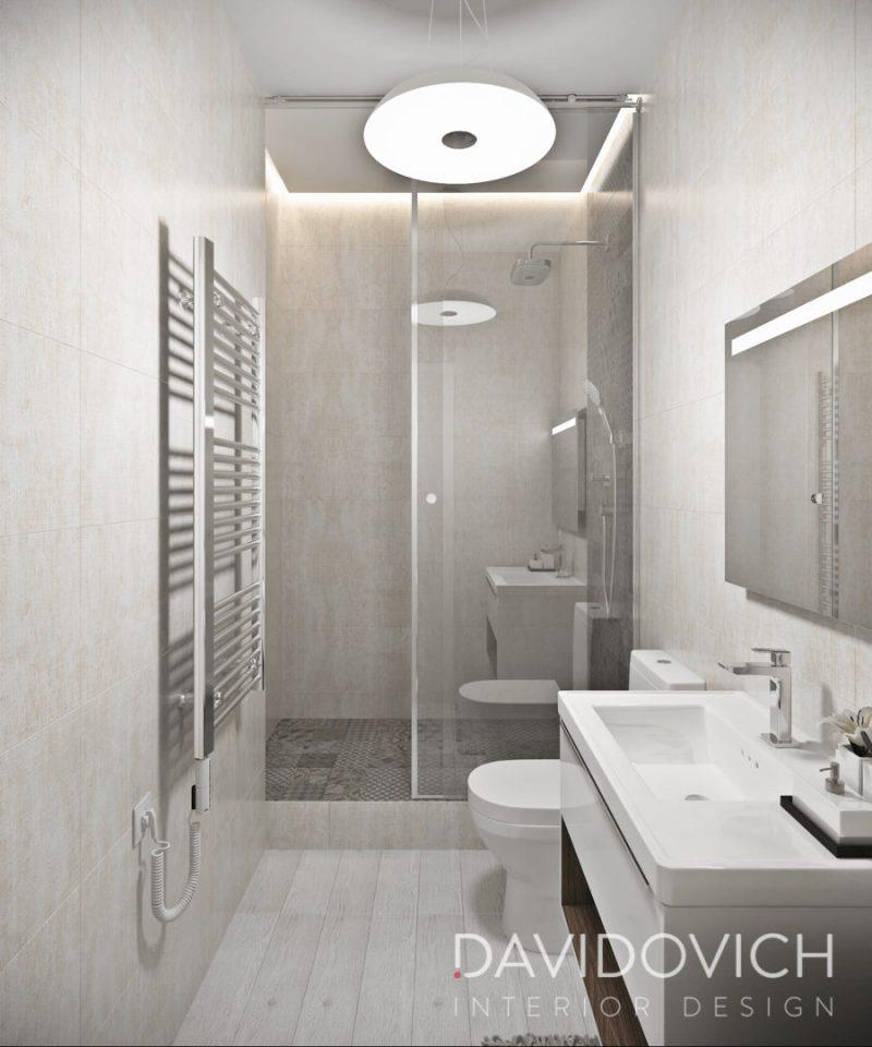 Планування ваної з душем - фото 35