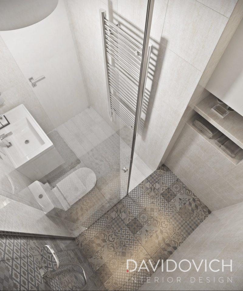 Планування ваної з душем - фото 36