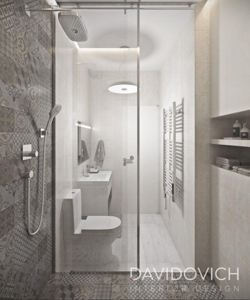Планування ваної з душем - фото 37