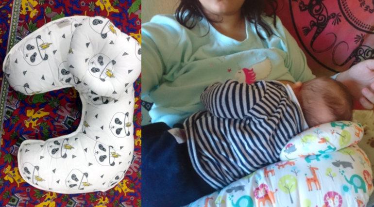 Як користуватися подушкою для годування