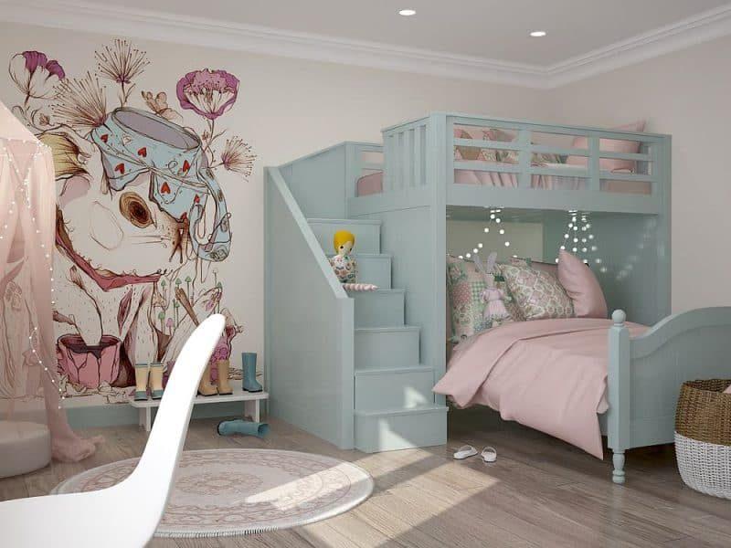 Дитяча кімната для двох дівчат - фото 5